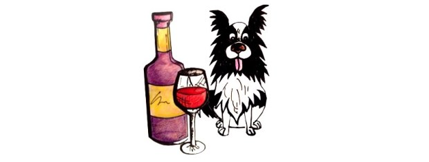 dog wine