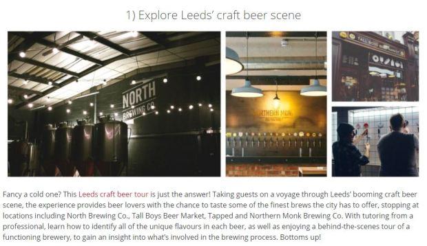 Leeds beer