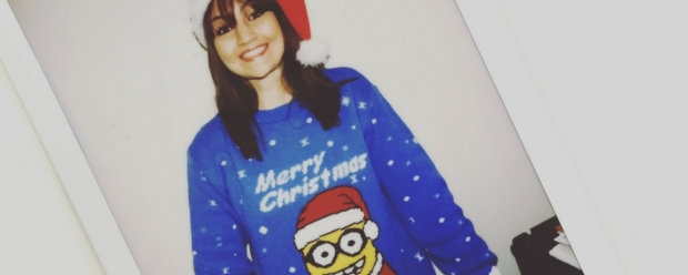 Christmas jumper, minion