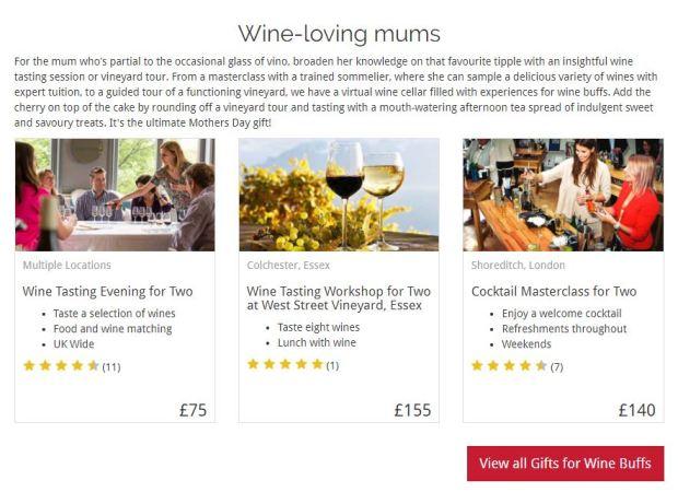 Wine loving mum